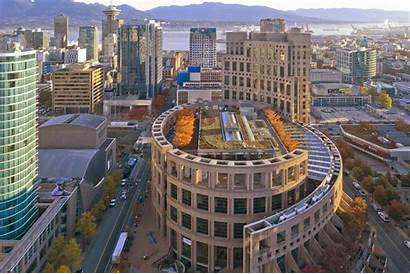 Vancouver Library Roof Garden Future Moshe Oberlander