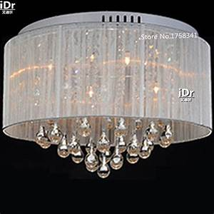 New best selling modern simple fabric crystal ceiling
