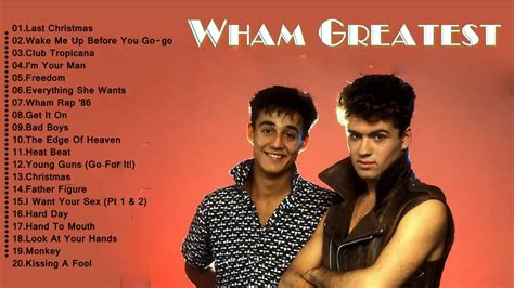wham poster wham greatest hits best of wham songs hits cover
