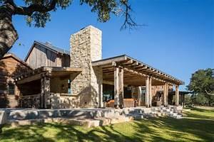 Llano Ranch Rustic Porch Austin By Cornerstone