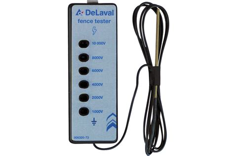 Battery Operated Lava L Nz by Delaval Fence Tester