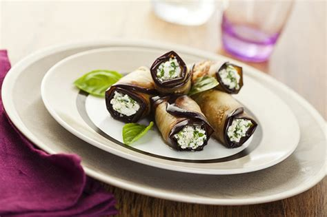 canapé aubergine low carb canapé ideas