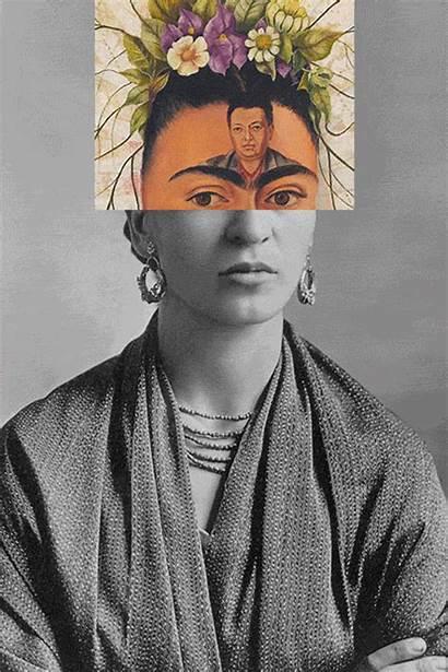 Frida Kahlo Construction Gifs Diego Rivera Animated