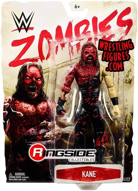 wwe kane figure action zombies toys wrestling toy figures series mattel toywiz