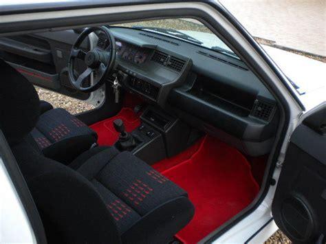 interieur 5 gt turbo 5 gt turbo blanc glacier de 1990