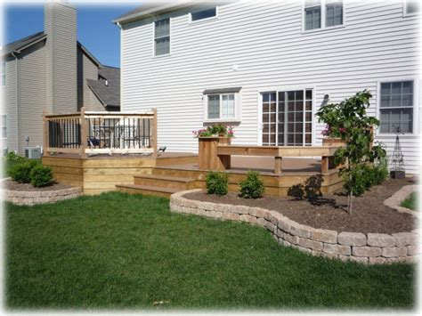 landscaping decks decks awesome yards