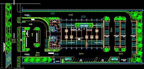 bus station dwg block  autocad designs cad