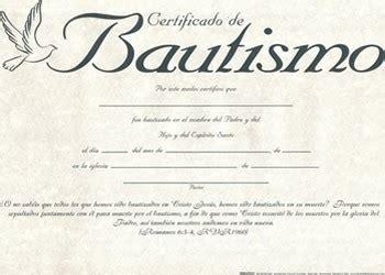 certificados de bautismo 081407001609 clc panama