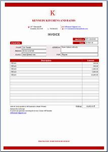 Auto Open Excel File Design Invoice Price Quotation For Your Business By Fattakh