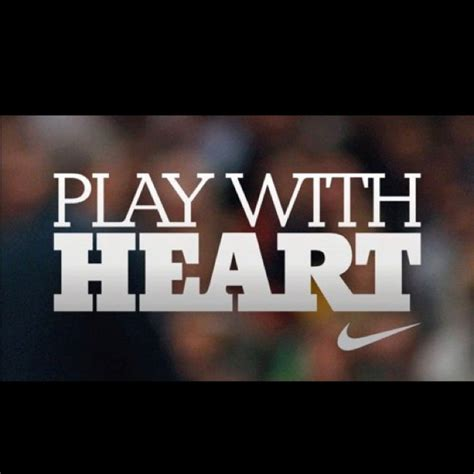 Playing Soccer With Heart Quotes