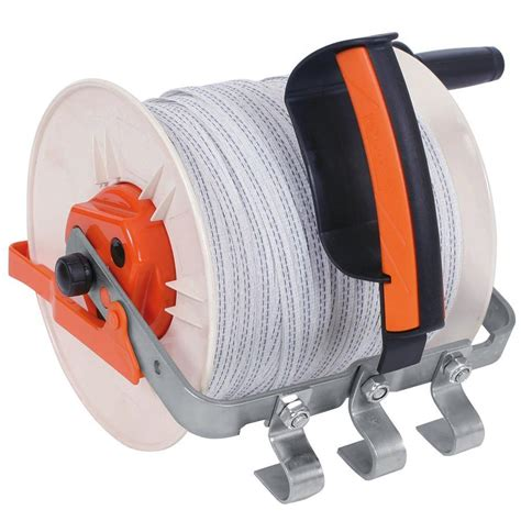 electric fencing fence reel gallagher large geared fence reel