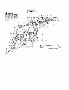 Poulan Bvm200 Type 1  Recon  Gas Leaf Blower Parts