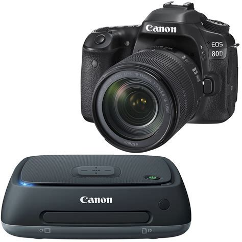 Best Buy: Canon Canon EOS 80D DSLR Camera with 18135mm IS