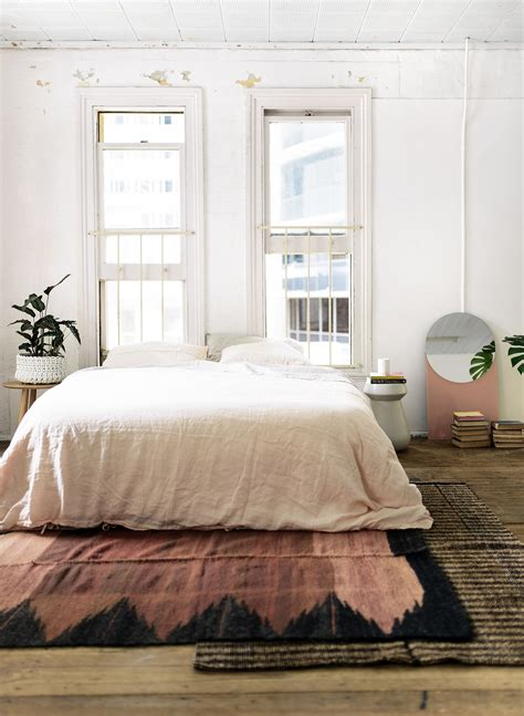 Rugs For The Bedroom by Layered Rugs Honestly