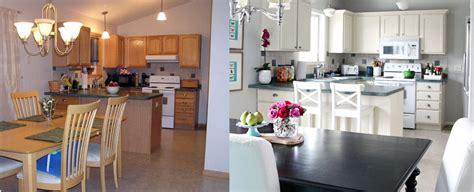 comment transformer une cuisine rustique en moderne repeindre ses meubles de cuisine l 39 incroyable avant