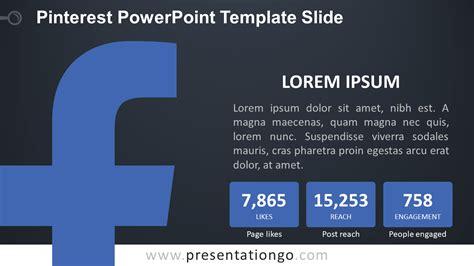 facebook powerpoint template  presentationgocom
