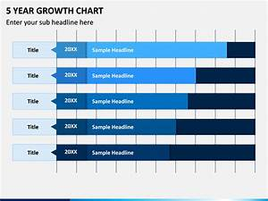 5 Year Growth Chart Powerpoint Template Sketchbubble