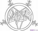Pentagram Slayer Dragoart Designlooter sketch template