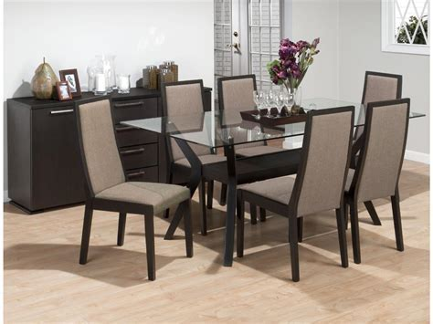 Dining Room Modern Dining Table Idea With Round Glass