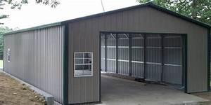 catapult steel buildings metal buildings metal barns With cheap shop building kits