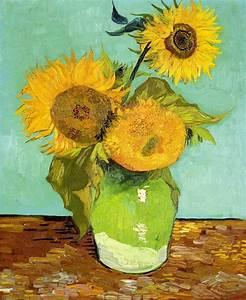 Sunflowers, 1888 - Vincent van Gogh - WikiArt.org