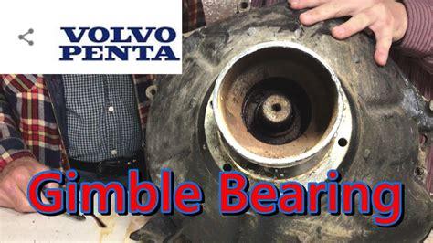 volvo penta gimble bearing shaft seal bearing removal dp