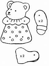 Puppet Coloring Bear Preschool Worksheets Crafts Comment Preschoolactivities sketch template