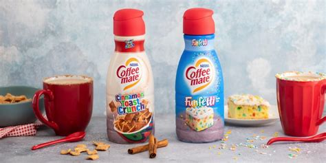 This is especially true for those who are big fans of cinnamon toast crunch. Coffee-mate is launching Cinnamon Toast Crunch and Funfetti creamers - Business Insider