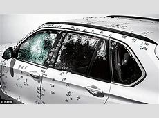 BMW X5 Security Plus bulletproof car can withstand fire