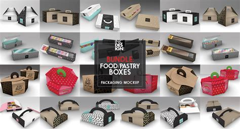 The best source of free packaging mockup psd templates online! Food Pastry Boxes Vol.1: Cake Donut Pastry Packaging ...
