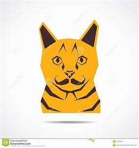 Creative Cat Face Royalty Free Stock Photography - Image ...