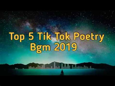 This is the official channel of background music.here we upload different background music like background music for poetry. TikTok Poetry Background Music   Top 5 Sad Shayari ...