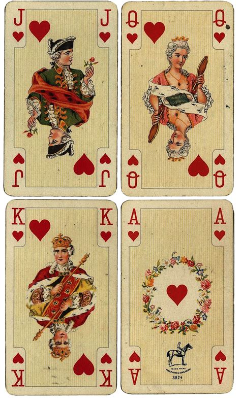 antique gold floor l antique french playing cards free large printables