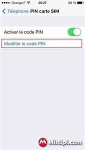 Changer Code Pin Iphone Se : comment changer le code pin de votre carte sim sur votre iphone 5 voir ~ Medecine-chirurgie-esthetiques.com Avis de Voitures
