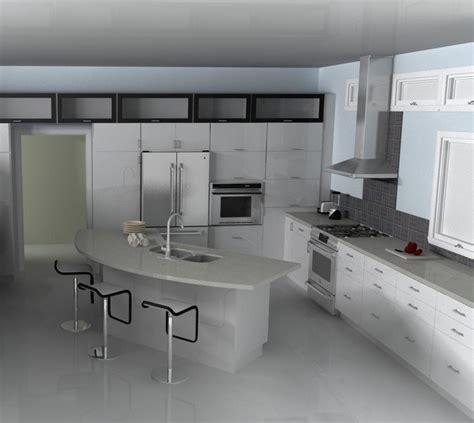 modern ikea kitchen abstrakt white modern kitchen