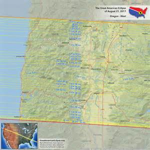 Solar Eclipse Salem Oregon Map