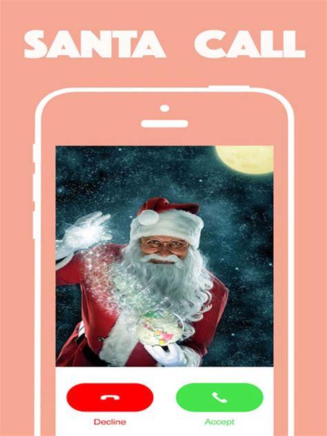 santa claus phone call app shopper santa claus calls call for