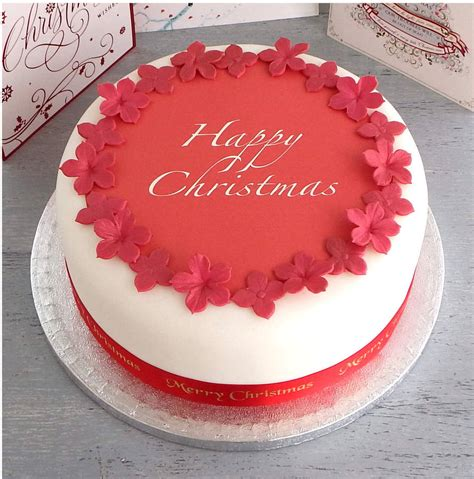 Feliz Navidad Decorations by Personalised Christmas Cake Decorating Kit By Clever