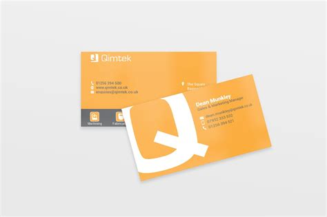 business cards designed   company weve  working