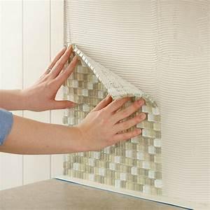 Install a Kitchen Glass Tile Backsplash