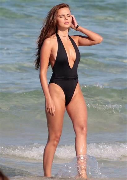 Xenia Deli Swimsuit Beach Miami Photoshoot Celebmafia
