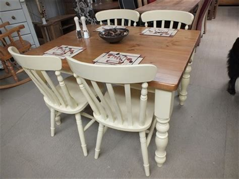 Farmhouse Painted Dining Kitchen Tables Farrow & Ball