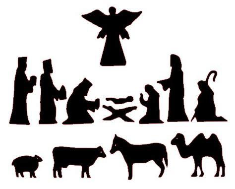 print out nativity scene silhouette search results calendar 2015