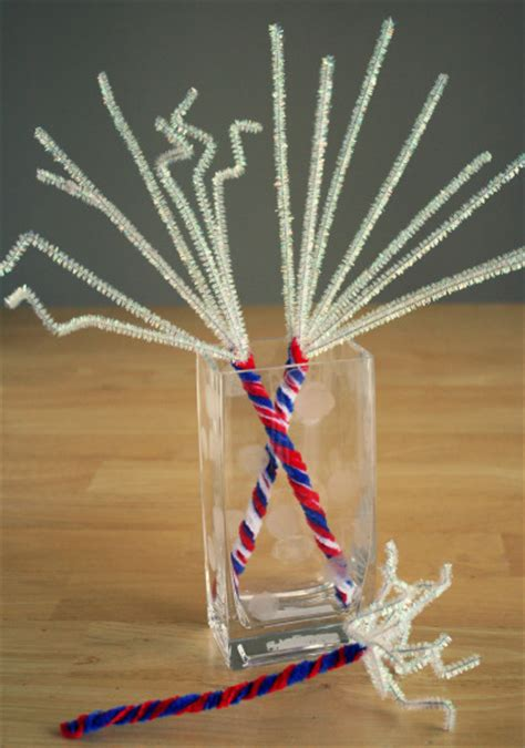 july pipe cleaner sparklers   takes