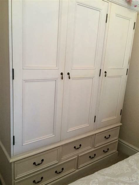 White Wardrobe And Drawers by White Wardrobe And Matching Drawers In Halifax