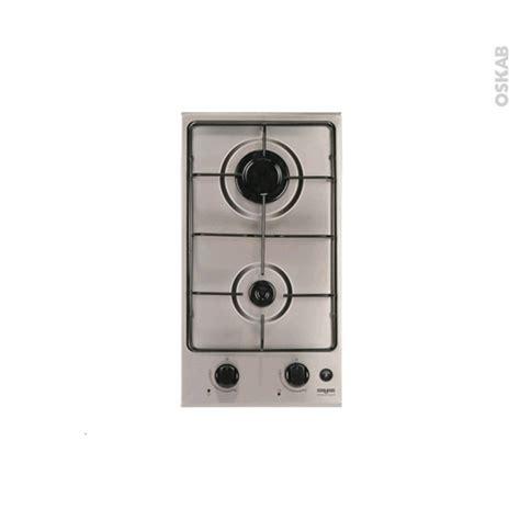 plaque de cuisine gaz plaque de cuisson 2 feux gaz 29 cm inox frionor dginfri