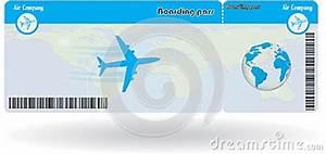 Einverständniserklärung Flug Unter 18 Muster : variante des flugtickets vektor abbildung bild 44594538 ~ Themetempest.com Abrechnung