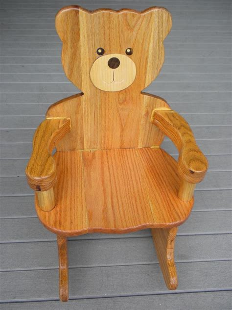 childrens rocking chair plans  diy  plans