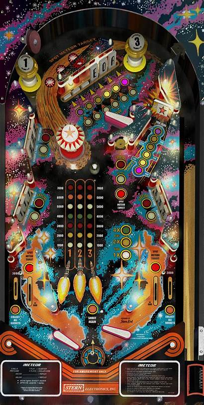 Pinball Board Wrap Cornhole Space Boards
