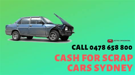 We Pay Cash For Scrap Cars Across Sydney Regions